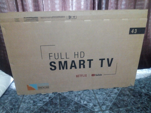 Smart Tv Goldstar 43  En Caja.. Outlet!! Detalle Chico