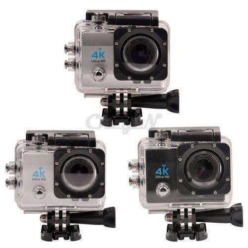 Camera Action Sports A Prova Dagua 16 Mp Wifi - 4k