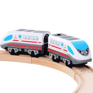 Kaja Tren Bala Juguetes De Tren De Madera Magnético Motor