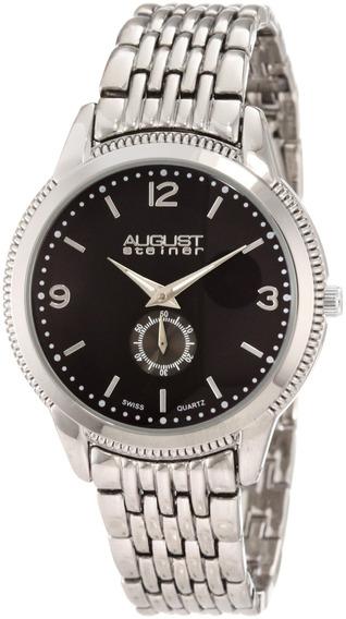 Reloj De Cuarzo Suizo Asa822ss De August Steiner Para Hom