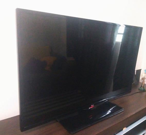Tv LG 47 (display Quebrado) Peças, Placas E Leds Funcionam.