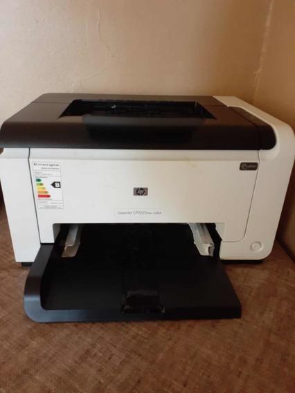 Impressora Laserjet Color Hp Cp1025nw 220v Semi Nova