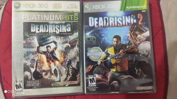 Kit Dead Rising 1 E Dead Rising 2 Completos Xbox 360