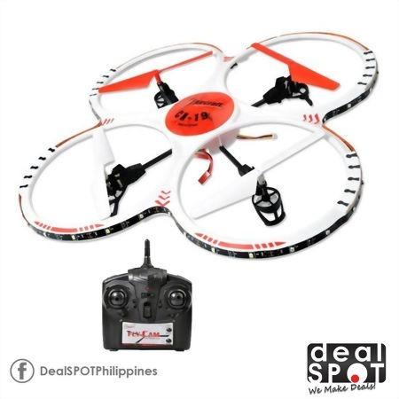 Drone Quadricoptero Sky King Ufo Cx-19 Com Câmera