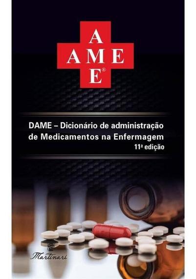 Ame - Dicionario De Administracao De Medicamentos Na Enferma