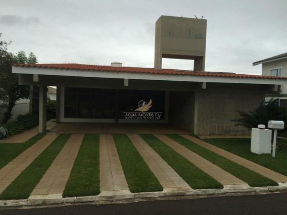 Casa Residencial Para Locação, Alto Das Palmeiras, Itu. - Ca0091