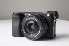 Câmera Sony Alpha A6400+16-50mm+32gb Garantia Sony Nf-e !