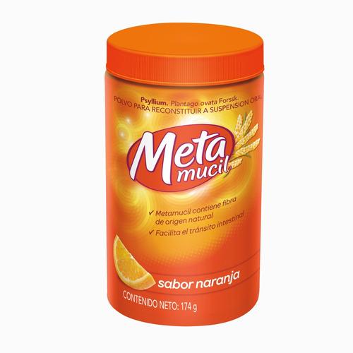 Fibra Natural Metamucil Sabor Naranja 174 - g a $8