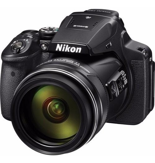 Câmera Digital Nikon Coolpix P900 83x 16mp Gps Wifi Full Hd