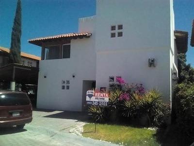 Vng/ Excelente Casa En Renta En Lomas Del Campanario Ii