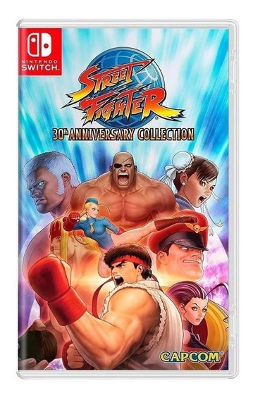 Jogo Nintendo Switch Street Fighter 30th Anniversary Collect