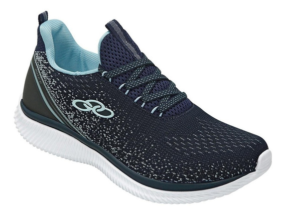 Tenis Feminino Esportivo Palmilha Feetpad Olympikus Make