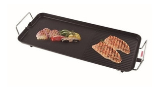 Parrilla Plancha Grill Electrica Movil Antiadherente Winco