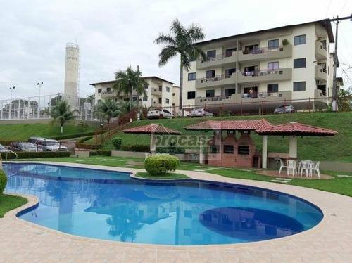 Imagem 1 de 5 de Apartamento Com 3 Dormitórios À Venda, 105 M² Por R$ 350.000 - Parque 10 De Novembro - Manaus/am - Ap3089