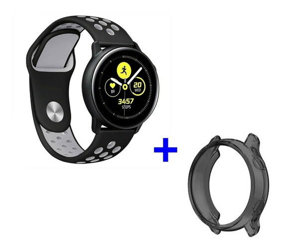 Pulseira Samsung Galaxy Watch Active Nike + Capa + Película
