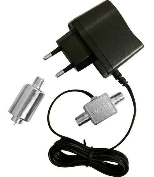 Mini Booster Uhf Vhf 26db Digital Pqbt 2670 Proeletronic