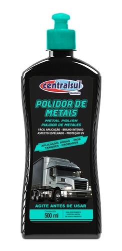Imagen 1 de 1 de Pulidor De Metales Liquido 500 Centralsul