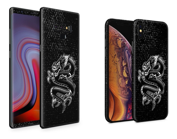 Skin Black Dragon Apple Samsung Huawei Lg Sony Xiaomi Etc