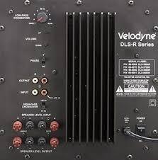 Velodyne Dls-3500r (troco Por Sound Bar)
