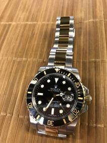 Relógio Base Eta 2840 - Rolex Submariner Pulseira Oyster