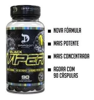 Black Viper 90 Caps Dragon Pharma (importado / Original)