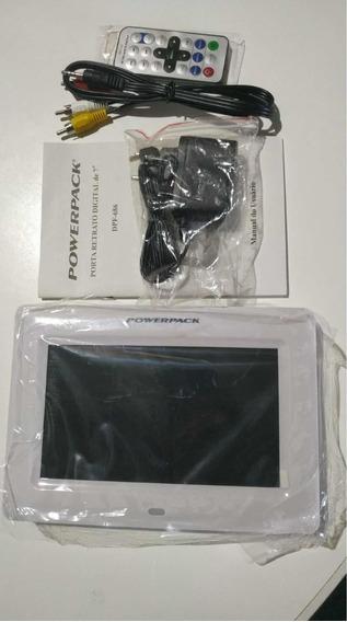 Porta Retrato Powerpack Dpf-686 7pol Usb Mp3 C/ Controle