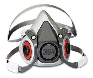 Respirador De Media Cara. Doble Cartucho De La Serie 6000s