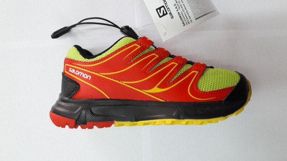 Zapatillas Salomon Trail Steppy Jr 366380 Envios Todo Pais