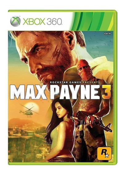 Max Payne 3 - Xbox 360 - Usado - Original
