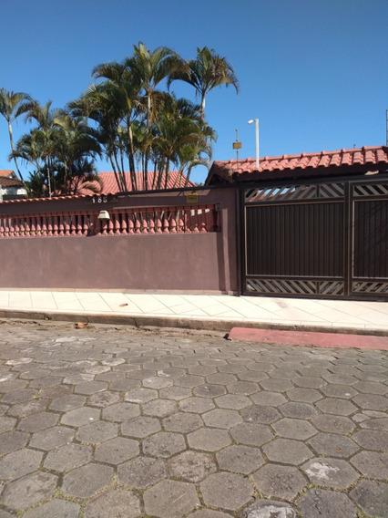 Linda Casa No Litoral Sul - Itanhaém Cibratel Ii- Com Piscina Á 150 M Da Praia