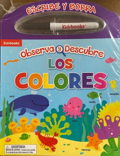 Imagen 1 de 1 de Libro Observa Y Descubre Los Colores. Nuevo