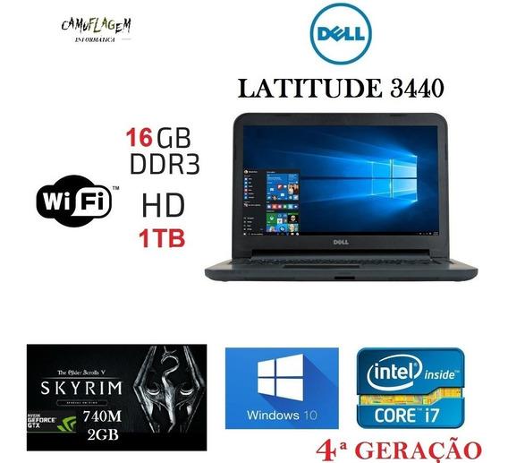 Notebook Dell I7 16 Gb Nvidea 2gb Hd 1tb Promoção E Garantia