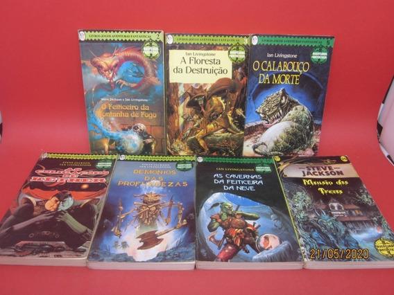 Coleção Livros Jogos Aventuras Fantásticas V. 2 3 5 8 ... 12