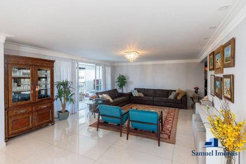 Imagem 1 de 30 de Apartamento Com 4 Suítes À Venda, 290 M² Por R$ 4.450.000 - Campo Belo - São Paulo/são Paulo - Ap4107