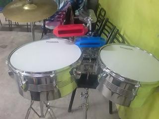 Timbales Thunder Con Percusión Lp