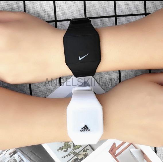 Relógio Eletrônico adidas/nike De Led Masculino Esportivo/si