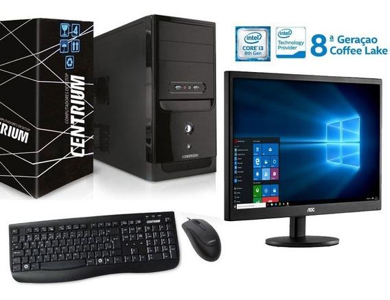 Desktop Fasttop Intel Core I3-8100 4gb 3.6ghz Ddr4 500gb
