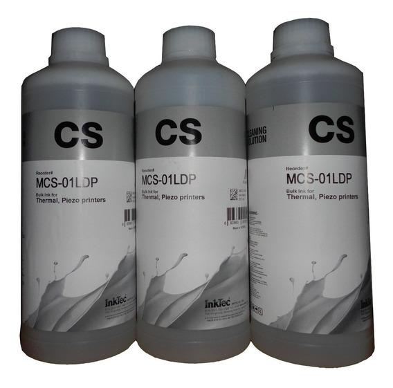1/2 Litro Liquido Destapacabezales Marca Inktec Calidad 100%
