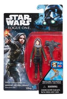 Sergeant Jyn Erso Jedha Star Wars Rogue One Disney Hasbro