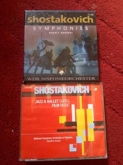 Shostakovich Sinfonias 11 Cds + Brinde 3 Cds