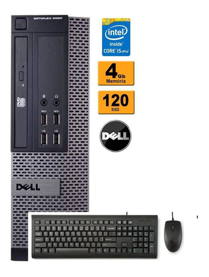 Cpu Dell Mini 9020 Intel Core I5 Vpro 4gb Ssd 120 Wifi