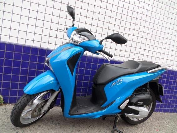 Honda Sh 150 I 2017 Azul Cod:.1011