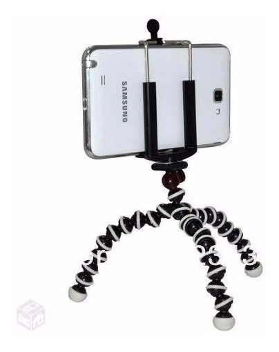Mini Tripé Flexível Universal Móvel Para Iphones Smartphones