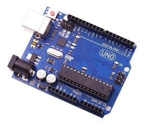 Arduino Uno R3 Atmega328p Microcontrolador 16u2 Sem Cabo