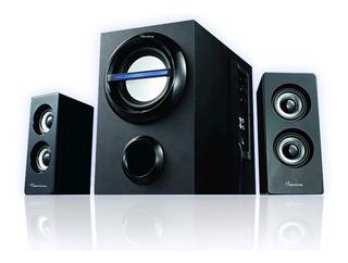 Sistema Hi-fi Parlantes Multimedia 2.1 45 W
