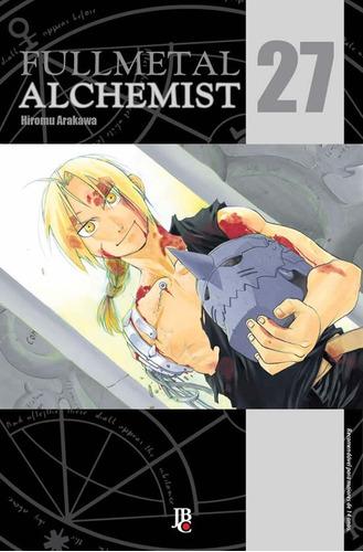 Fullmetal Alchemist 27 Edição De Luxo! Mangá Jbc! Lacrado!