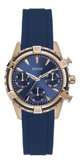 Relógio Feminino Guess Azul Ladies Dress 92552lpgsru3 C/ Nfe