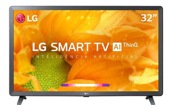 Smart Tv Lg 32 Hd Hdr Inteligência Artificial 32lm625bpsb