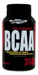 Ultimate Bcaa 2400 240 Caps Bio Nutrition ( + Luva Caleira)