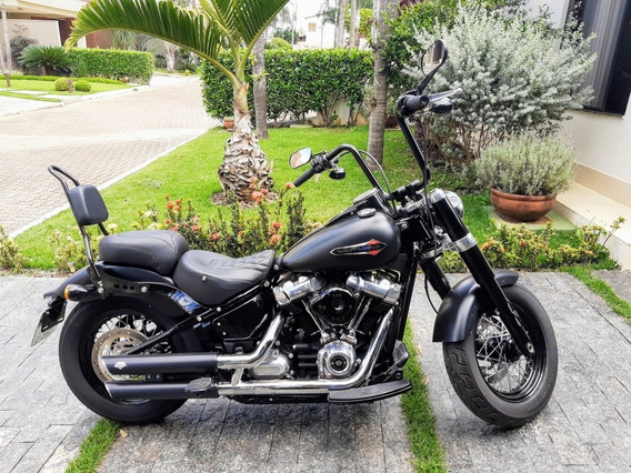 Hd Harley Softail Slim 2018 Seminova Diversos Acessórios